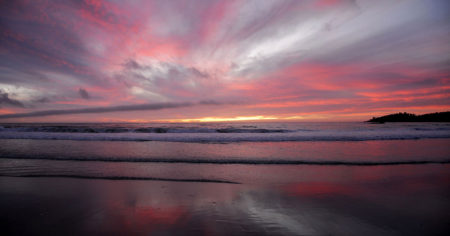 """ ... Last Rays ... "" - Carmel by the sea"